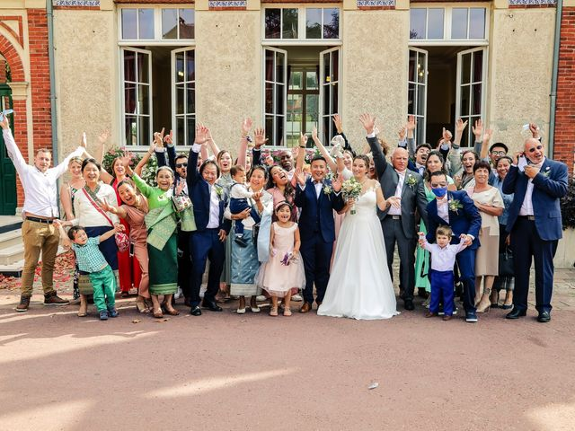 Le mariage de Pathana et Émilie à Le Perray-en-Yvelines, Yvelines 74