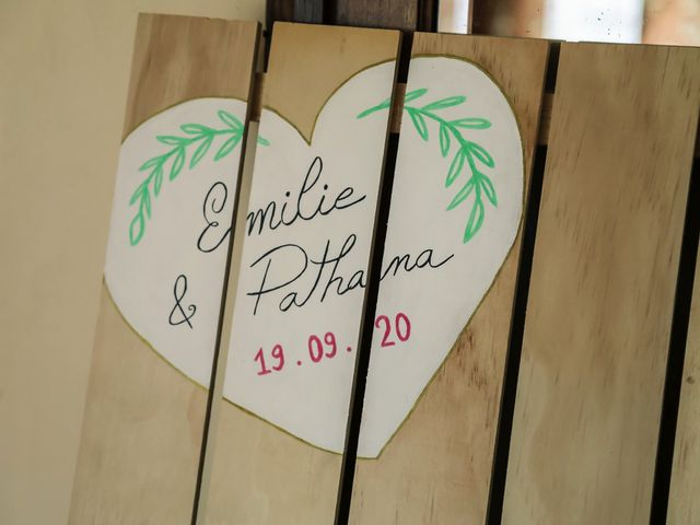 Le mariage de Pathana et Émilie à Le Perray-en-Yvelines, Yvelines 91