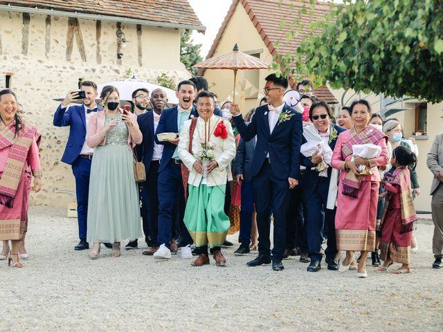 Le mariage de Pathana et Émilie à Le Perray-en-Yvelines, Yvelines 161