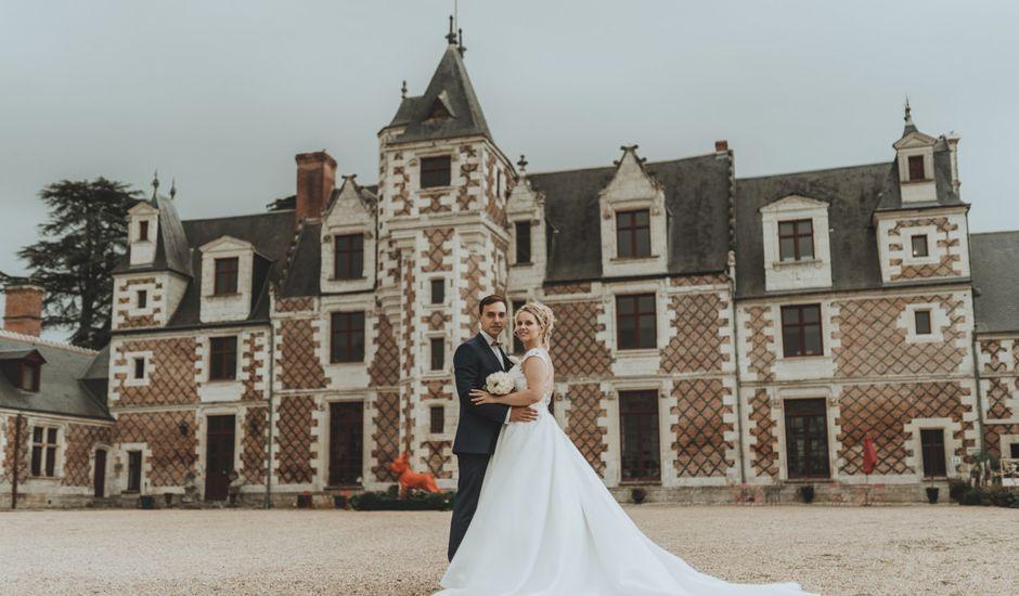 Le mariage de Lucia et David à Vernou-sur-Brenne, Indre-et-Loire