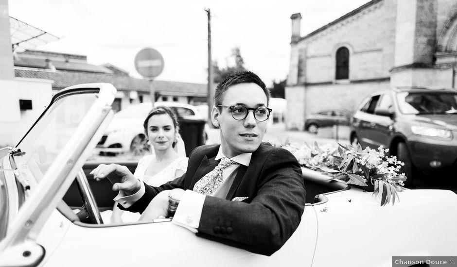 Le mariage de Cédric et Elsa à Martillac, Gironde