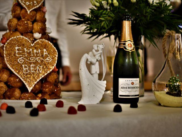 Le mariage de Benjamin et Emmanuelle à Landos, Haute-Loire 74