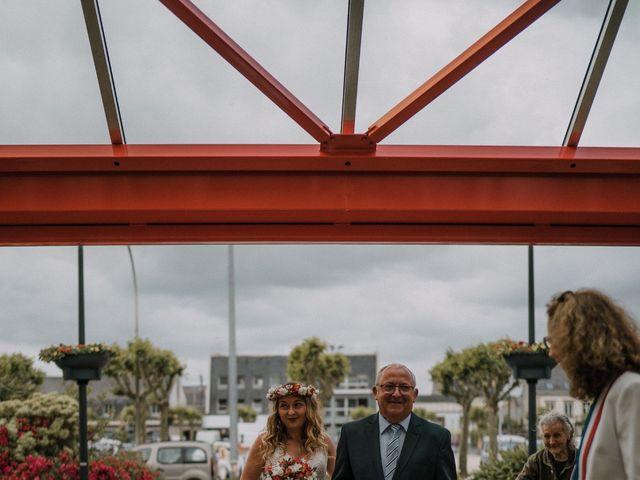 Le mariage de Morgan et Géraldine à Landivisiau, Finistère 15