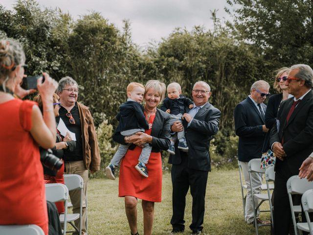 Le mariage de Morgan et Géraldine à Landivisiau, Finistère 52