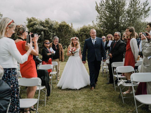 Le mariage de Morgan et Géraldine à Landivisiau, Finistère 54