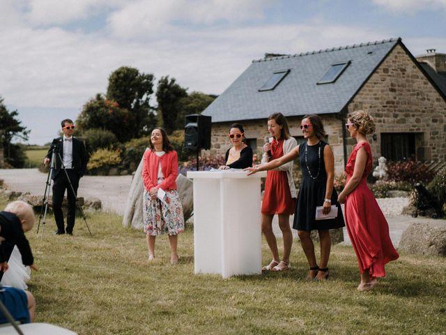 Le mariage de Morgan et Géraldine à Landivisiau, Finistère 81