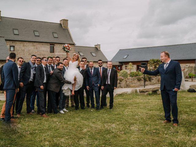 Le mariage de Morgan et Géraldine à Landivisiau, Finistère 128