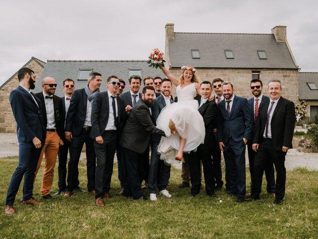 Le mariage de Morgan et Géraldine à Landivisiau, Finistère 129