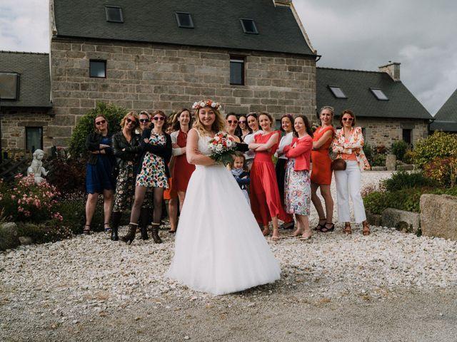 Le mariage de Morgan et Géraldine à Landivisiau, Finistère 142