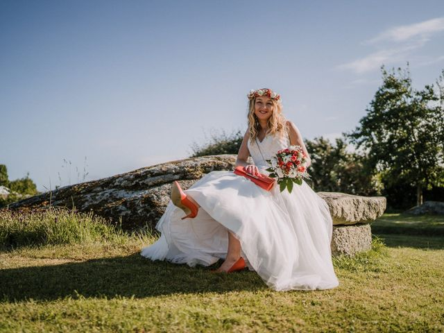 Le mariage de Morgan et Géraldine à Landivisiau, Finistère 161