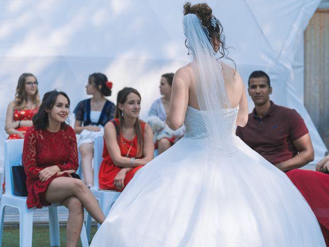 Le mariage de Thomas et Lola à Saint-Donat-sur-l'Herbasse, Drôme 20