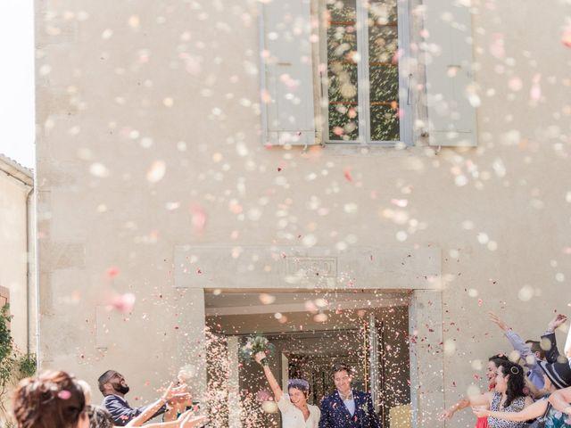 Le mariage de Mathieu et Marine à Pamiers, Ariège 5