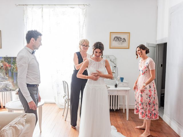 Le mariage de Mathieu et Marine à Pamiers, Ariège 16