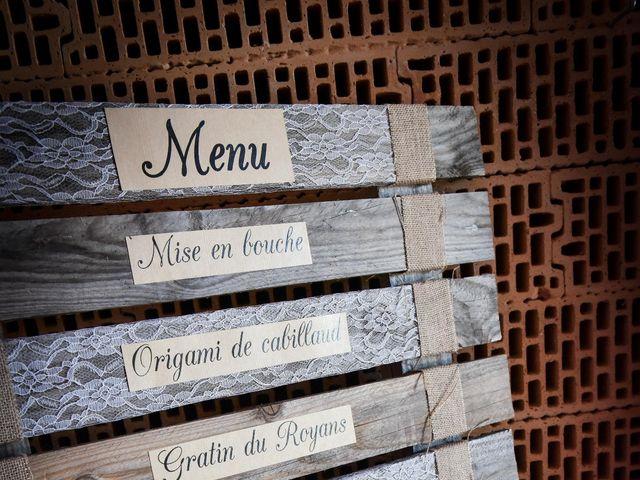Le mariage de Sylvain et Cécile à Le Teil, Ardèche 7