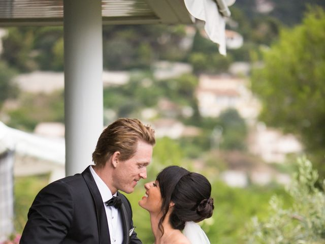 Le mariage de Kris et Anna à Éze, Alpes-Maritimes 21