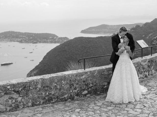 Le mariage de Kris et Anna à Éze, Alpes-Maritimes 25