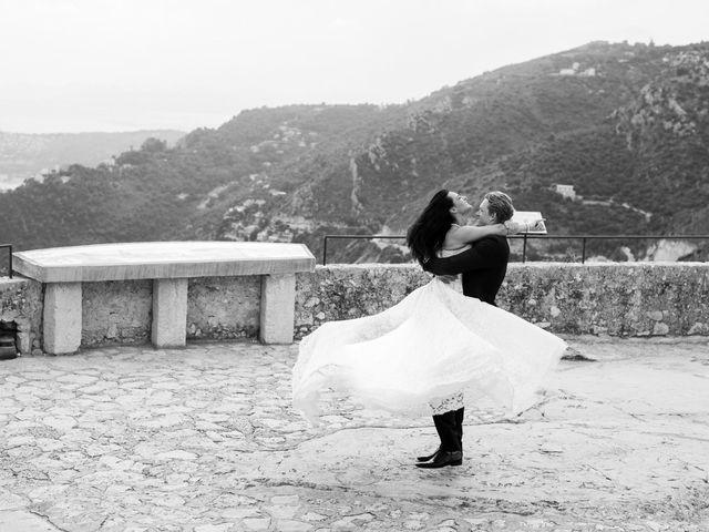 Le mariage de Kris et Anna à Éze, Alpes-Maritimes 26