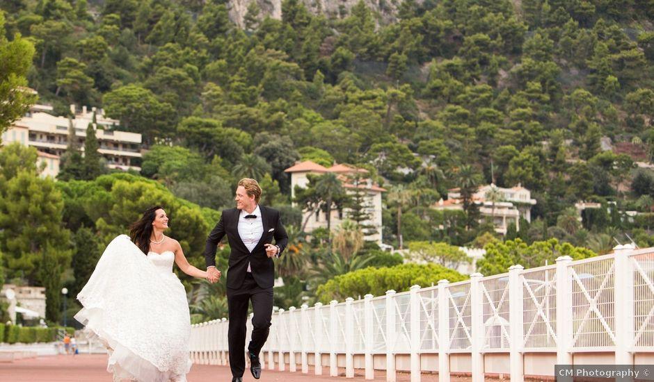 Le mariage de Kris et Anna à Éze, Alpes-Maritimes