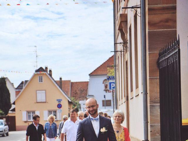 Le mariage de Florian et Adeline à Geispolsheim, Bas Rhin 9