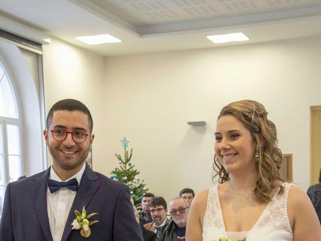 Le mariage de Farouk et Pauline à Chablis, Yonne 77