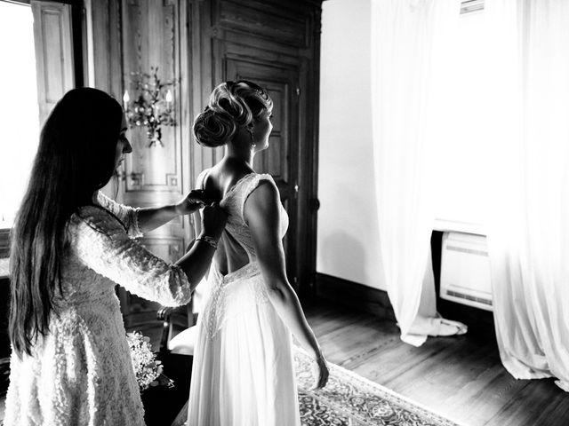 Le mariage de Damien et Amandine à Saint-Lager, Rhône 1