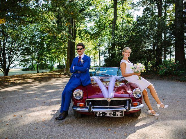 Le mariage de Damien et Amandine à Saint-Lager, Rhône 9