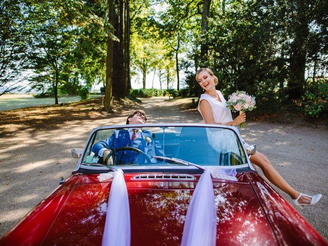 Le mariage de Damien et Amandine à Saint-Lager, Rhône 10