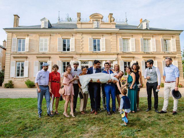 Le mariage de Damien et Amandine à Saint-Lager, Rhône 19