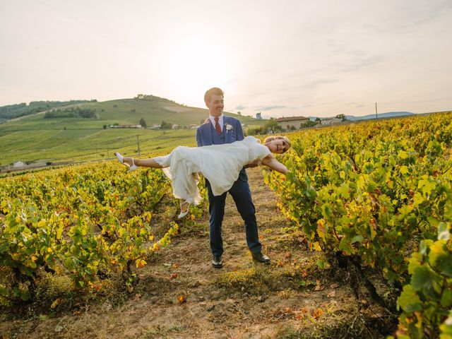 Le mariage de Damien et Amandine à Saint-Lager, Rhône 23