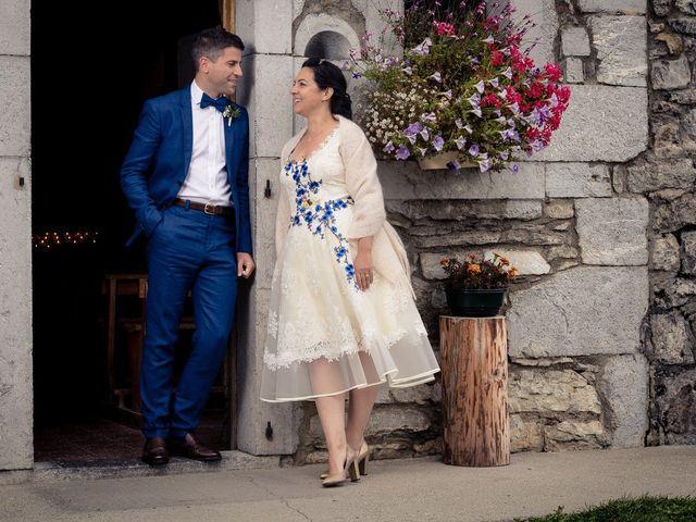Le mariage de Alexander et Francesca à La Clusaz, Haute-Savoie 10