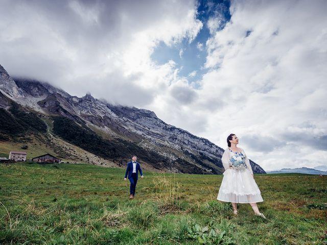 Le mariage de Alexander et Francesca à La Clusaz, Haute-Savoie 1