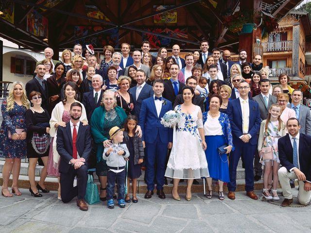 Le mariage de Alexander et Francesca à La Clusaz, Haute-Savoie 13