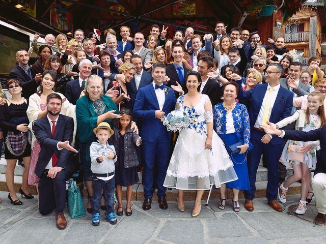 Le mariage de Alexander et Francesca à La Clusaz, Haute-Savoie 14