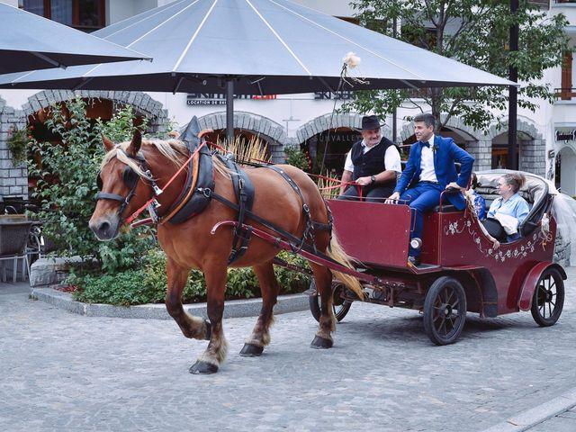 Le mariage de Alexander et Francesca à La Clusaz, Haute-Savoie 16
