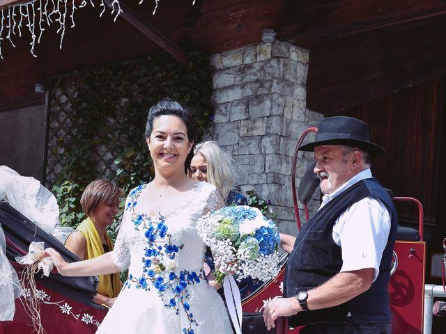 Le mariage de Alexander et Francesca à La Clusaz, Haute-Savoie 19