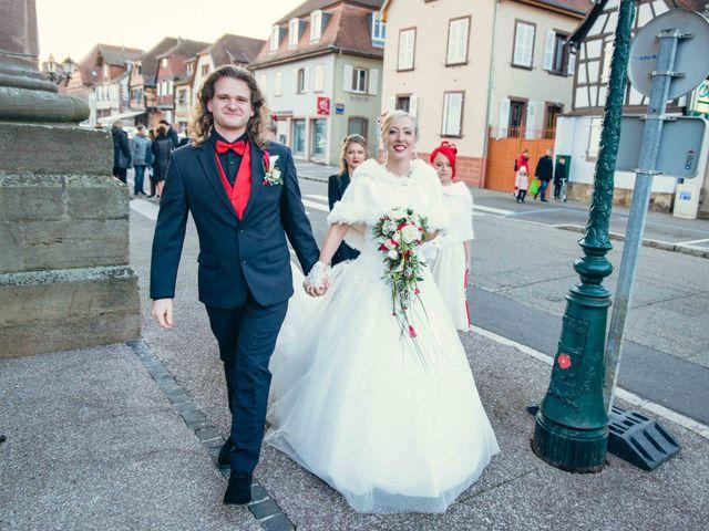 Le mariage de Lucas et Alice à Matzenheim, Bas Rhin 4