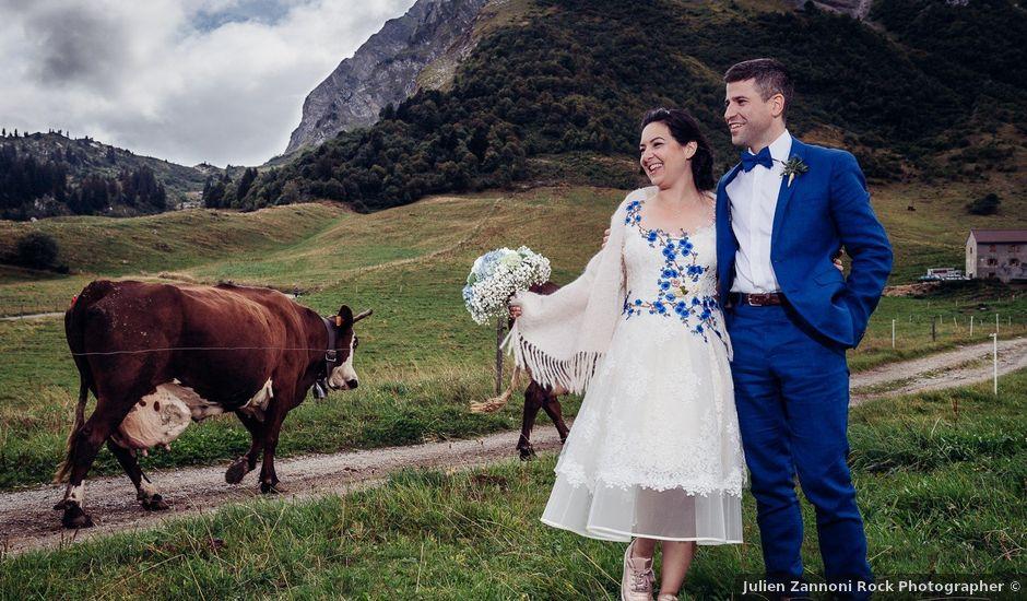 Le mariage de Alexander et Francesca à La Clusaz, Haute-Savoie