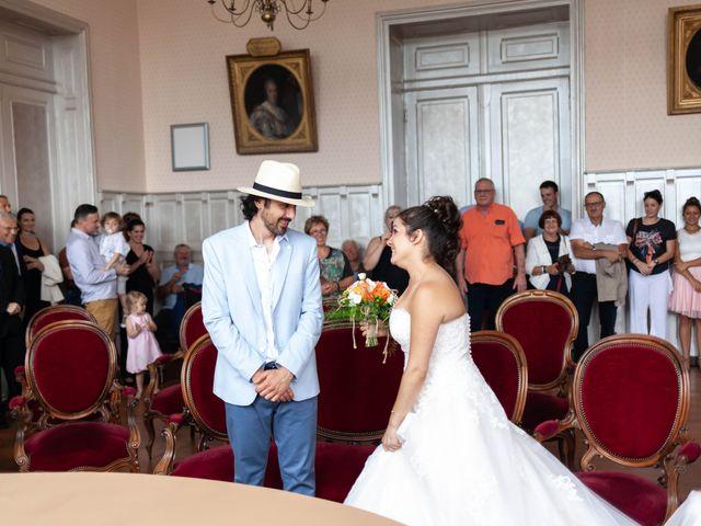 Le mariage de Fabien et Marjolaine à Villefranche-de-Rouergue, Aveyron 1