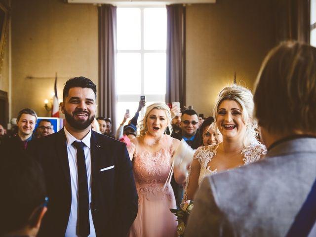 Le mariage de Aziz et Amandine à Vernon, Eure 23