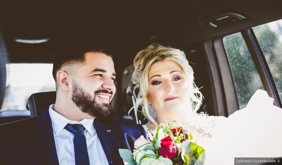 Le mariage de Aziz et Amandine à Vernon, Eure