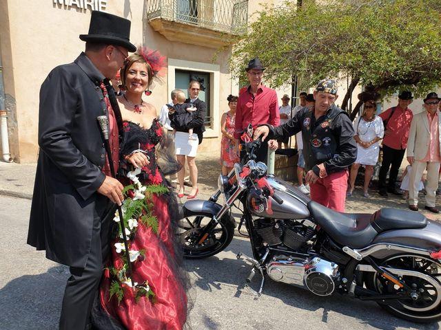 Le mariage de Franck et Laure à Congéniès, Gard 6