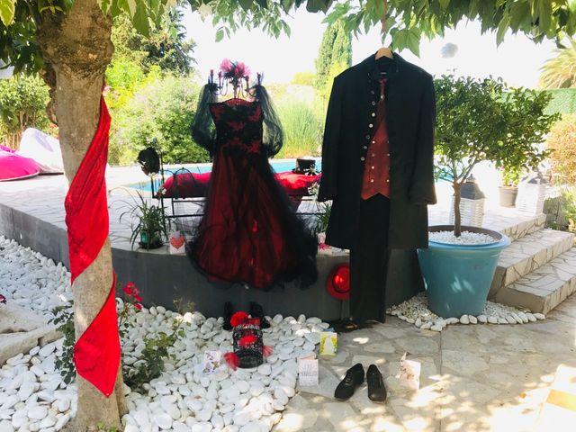 Le mariage de Franck et Laure à Congéniès, Gard 10