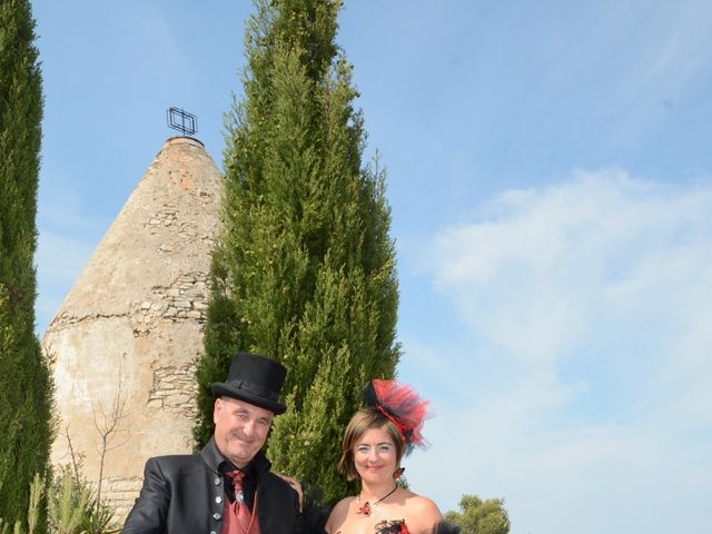 Le mariage de Franck et Laure à Congéniès, Gard 13