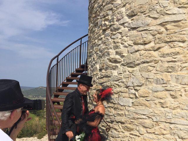 Le mariage de Franck et Laure à Congéniès, Gard 16
