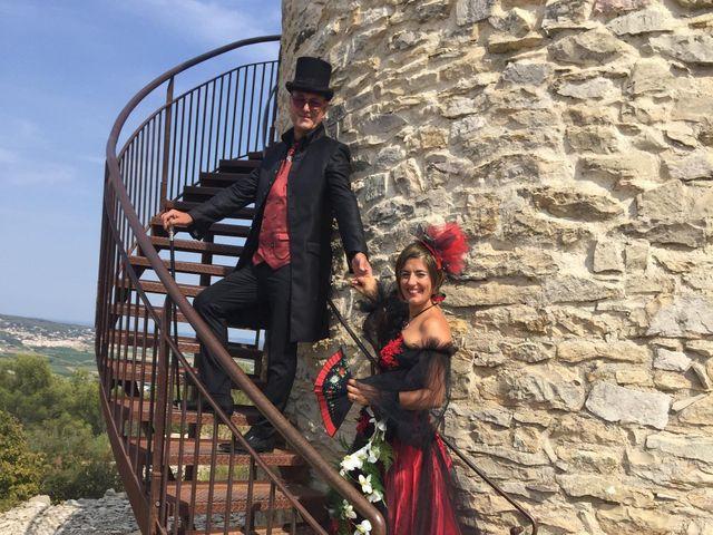 Le mariage de Franck et Laure à Congéniès, Gard 17