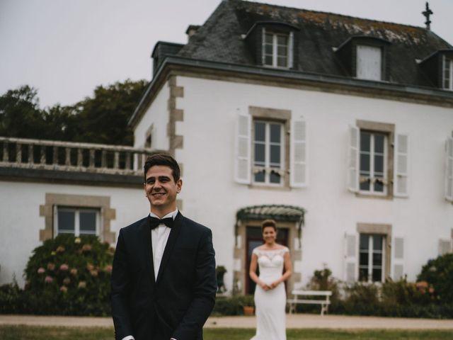 Le mariage de Guillaume et Hélène à Loctudy, Finistère 56