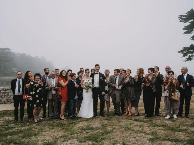Le mariage de Guillaume et Hélène à Loctudy, Finistère 142
