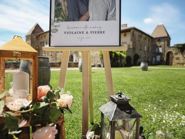 Le mariage de Pierre et Violaine à Vourles, Rhône 17