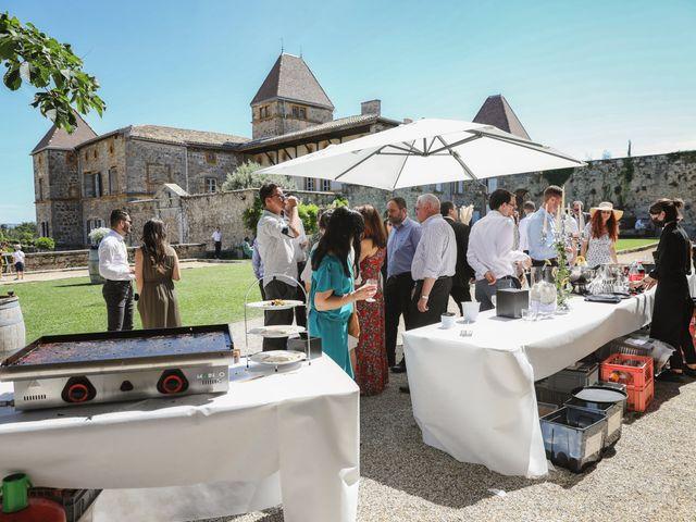 Le mariage de Pierre et Violaine à Vourles, Rhône 43