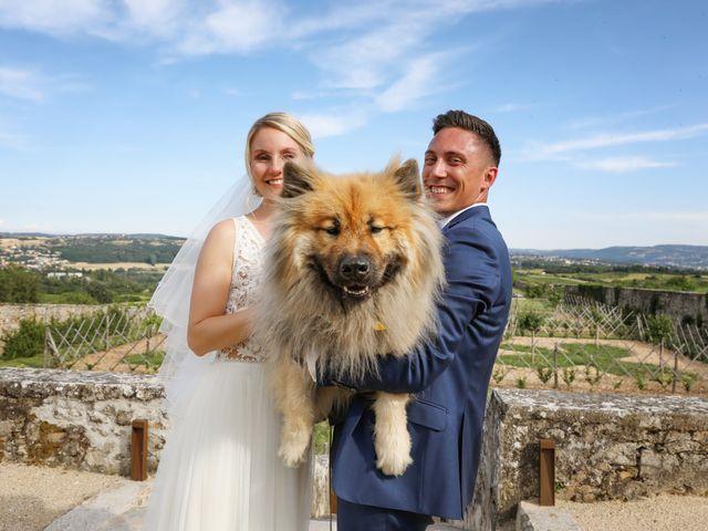 Le mariage de Pierre et Violaine à Vourles, Rhône 47